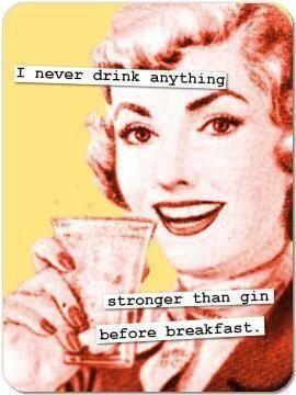 Gin Before Breakfast