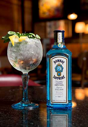 Bombay Gin and Tonic