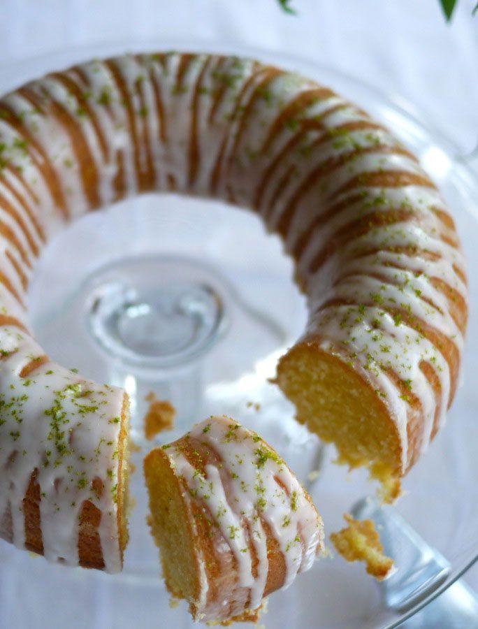 Gin and Tonic Cake