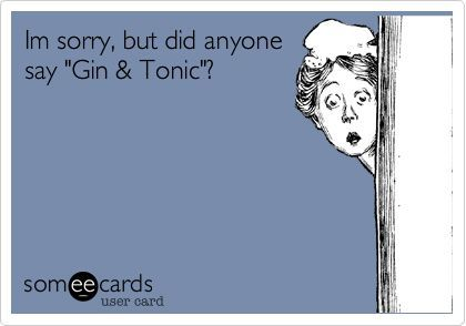 Did someone say G&T?