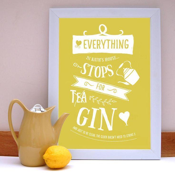 Gin or Tea