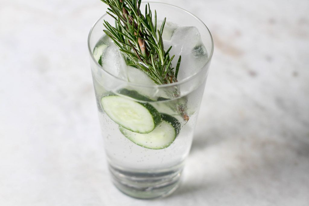 G&T with rosemary