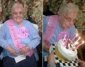 Ina celebrating 105 years