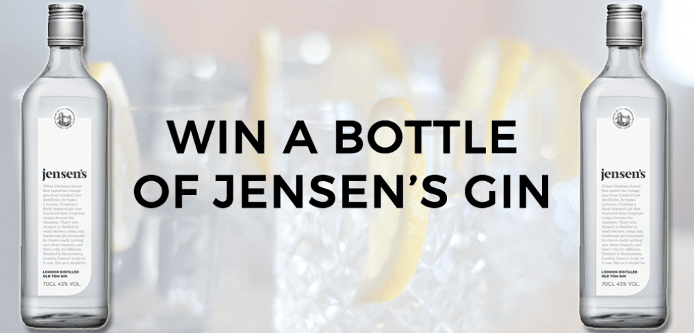 Win A Bottle of Gin