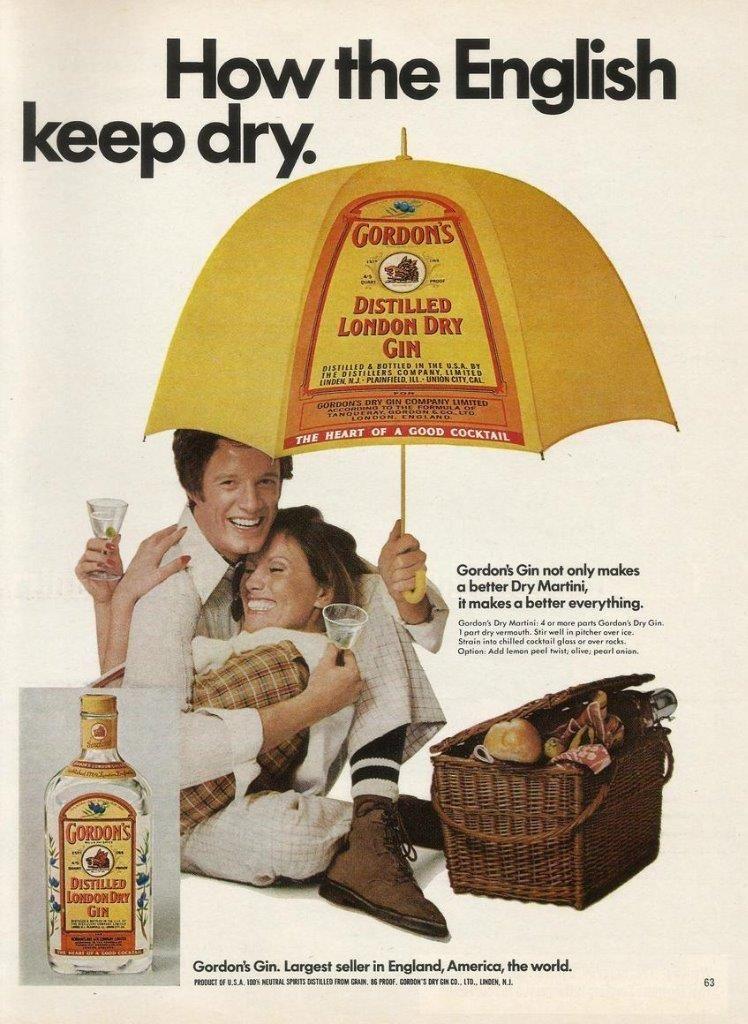Gordon's Advert