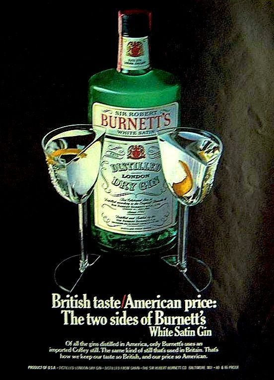 British gin adverts