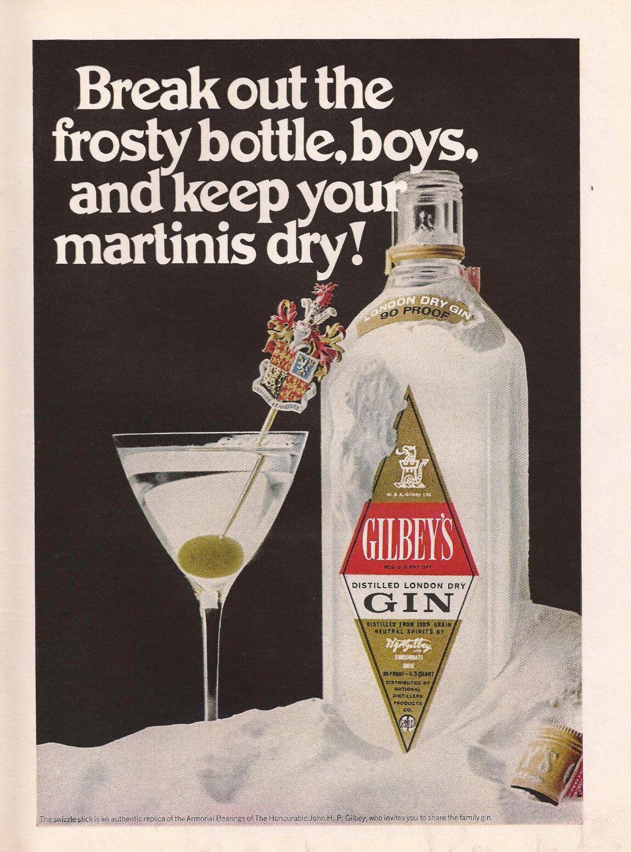 Martini gin ad