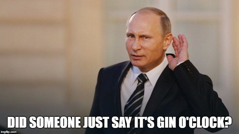 did someone say gin o'clock