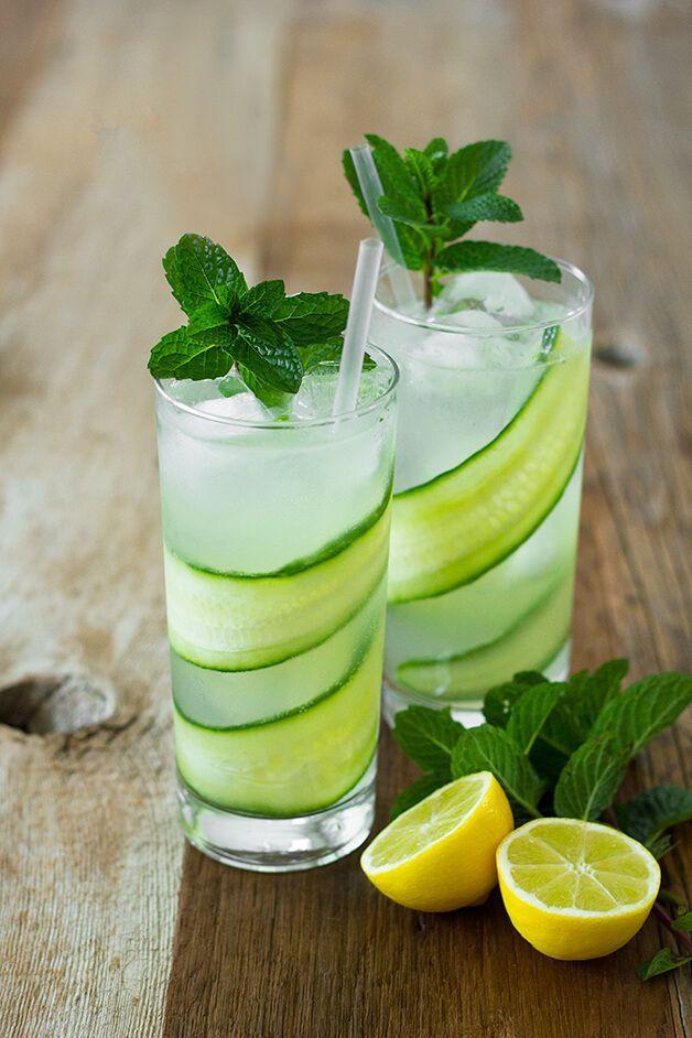 Cucumber Mint Fizz
