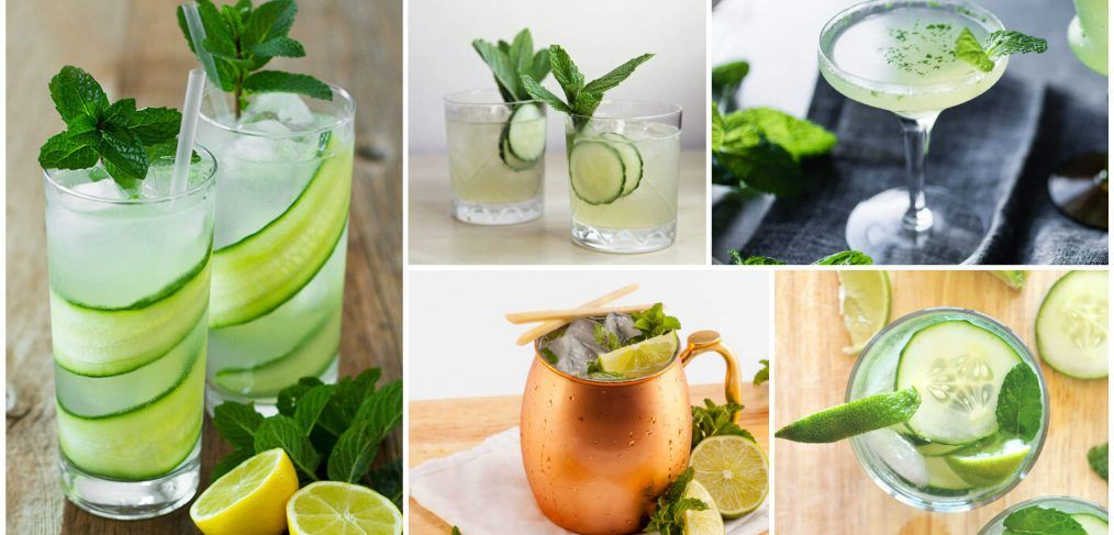 Gin and Mint Cocktails