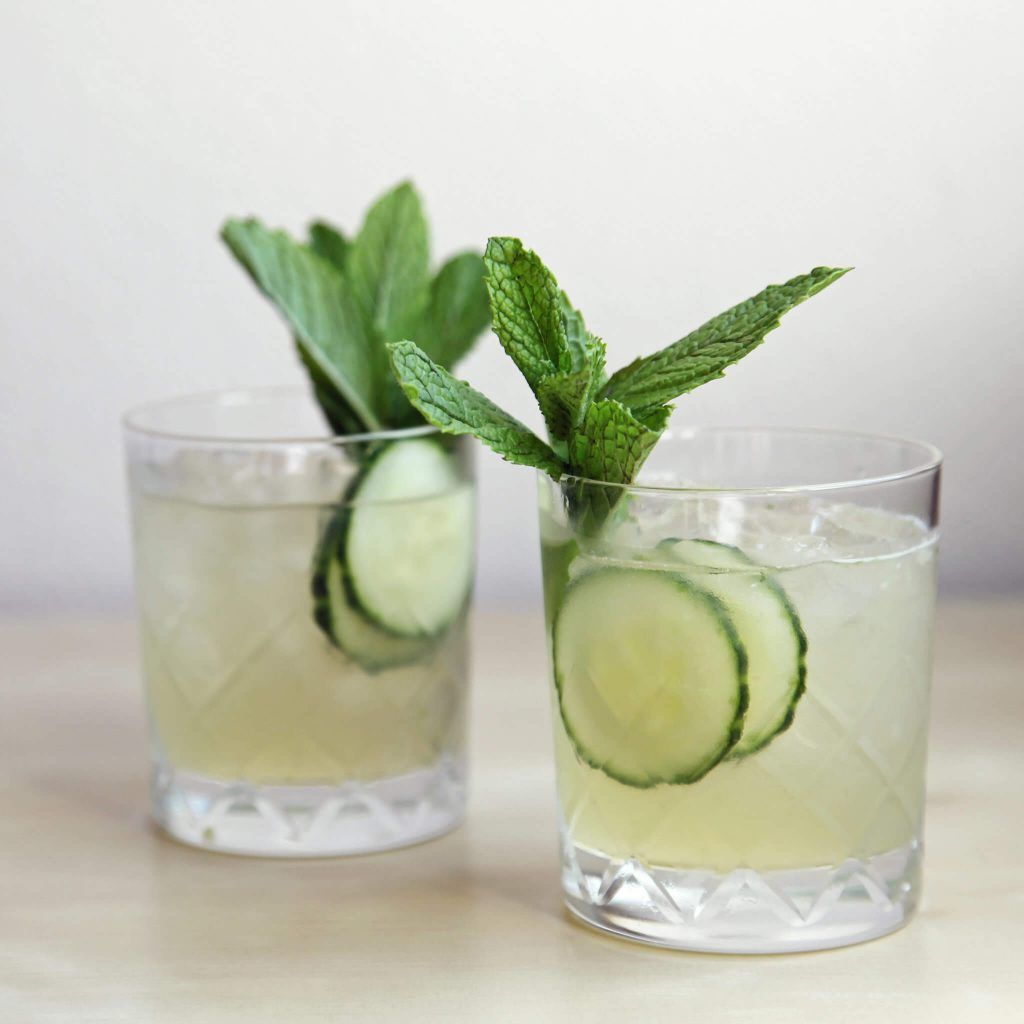Mint Cocktail with Gin
