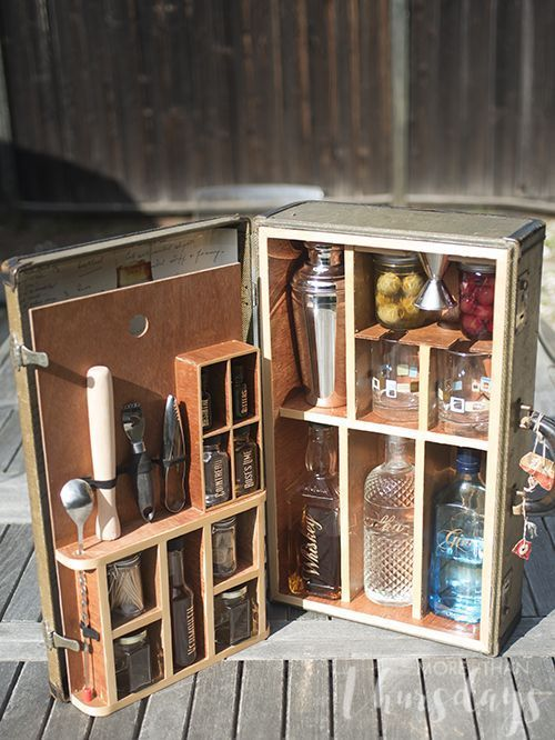 11 Awesome Portable Bars Ideas For All Your Gin I Love Gin