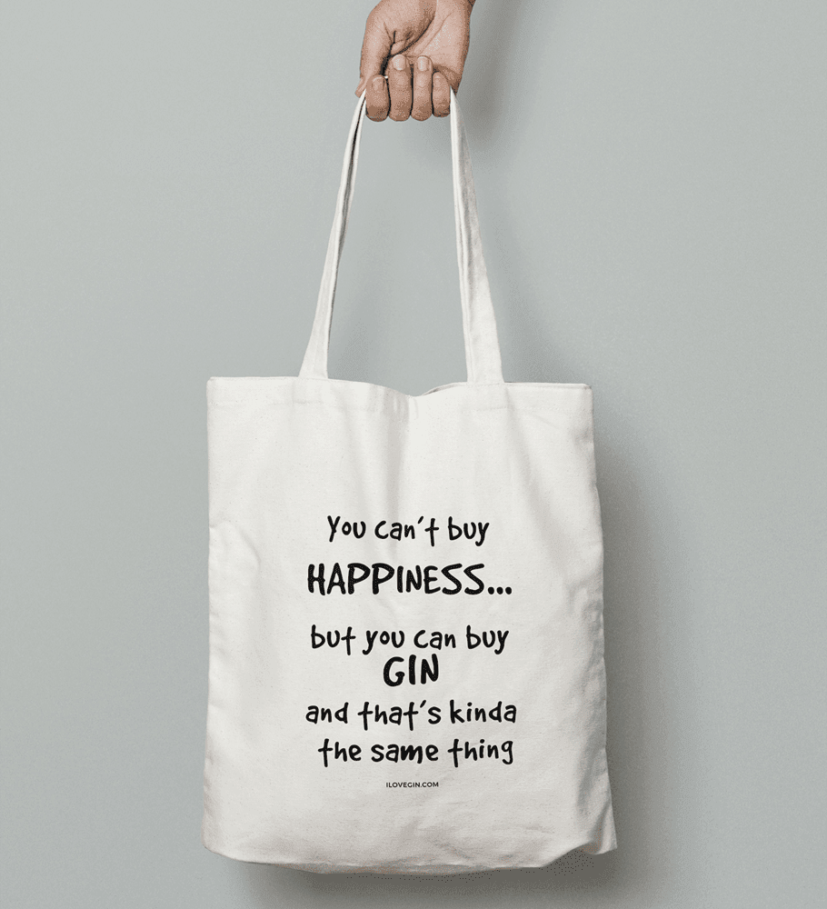 Gin-Lovers Cotton Tote Bag (2 designs)