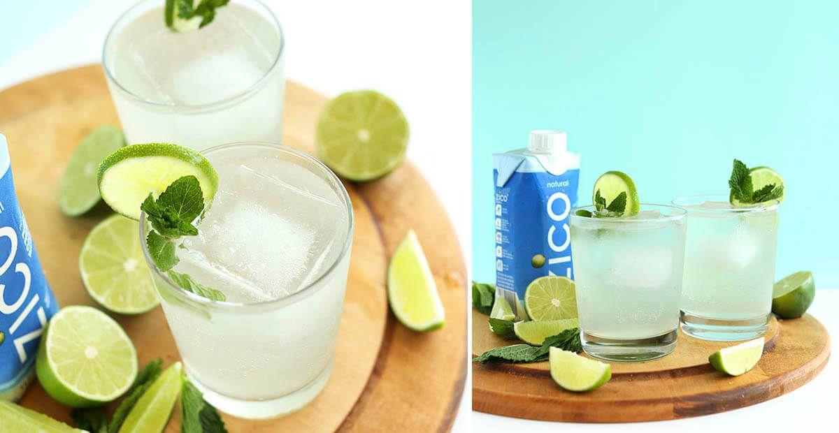 Coconut Water Gin & Tonics