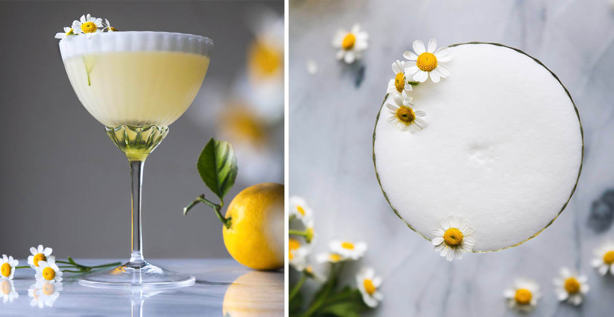 Lemon Chamomile Cocktail