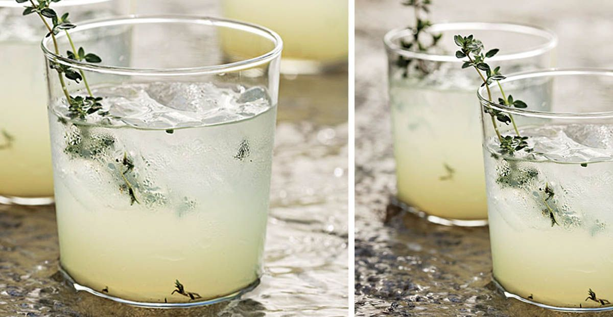 Lemoncello Gin Cocktail