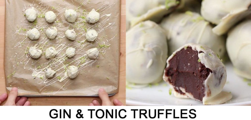 Gin & Tonic Truffles