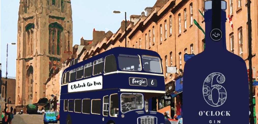 6 'oclock gin bus