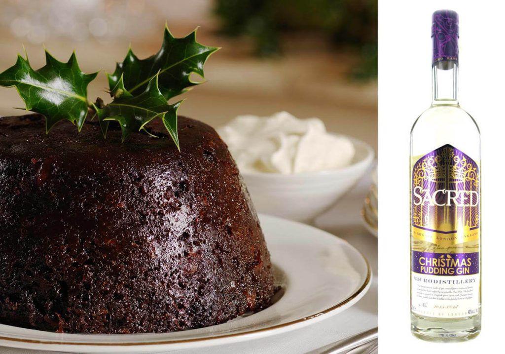 christmas pudding gin