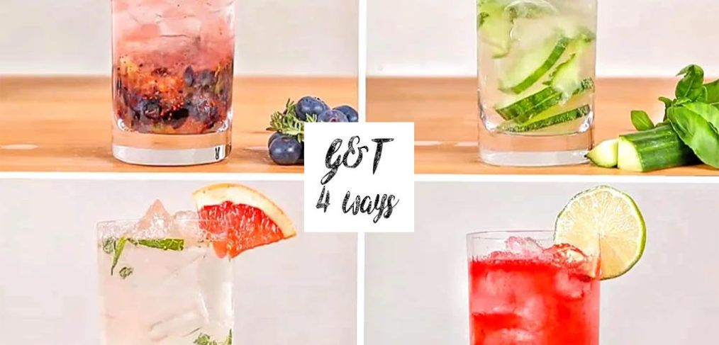 Gin & Tonic 4 Ways