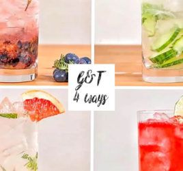 Gin & Tonic 4 Ways