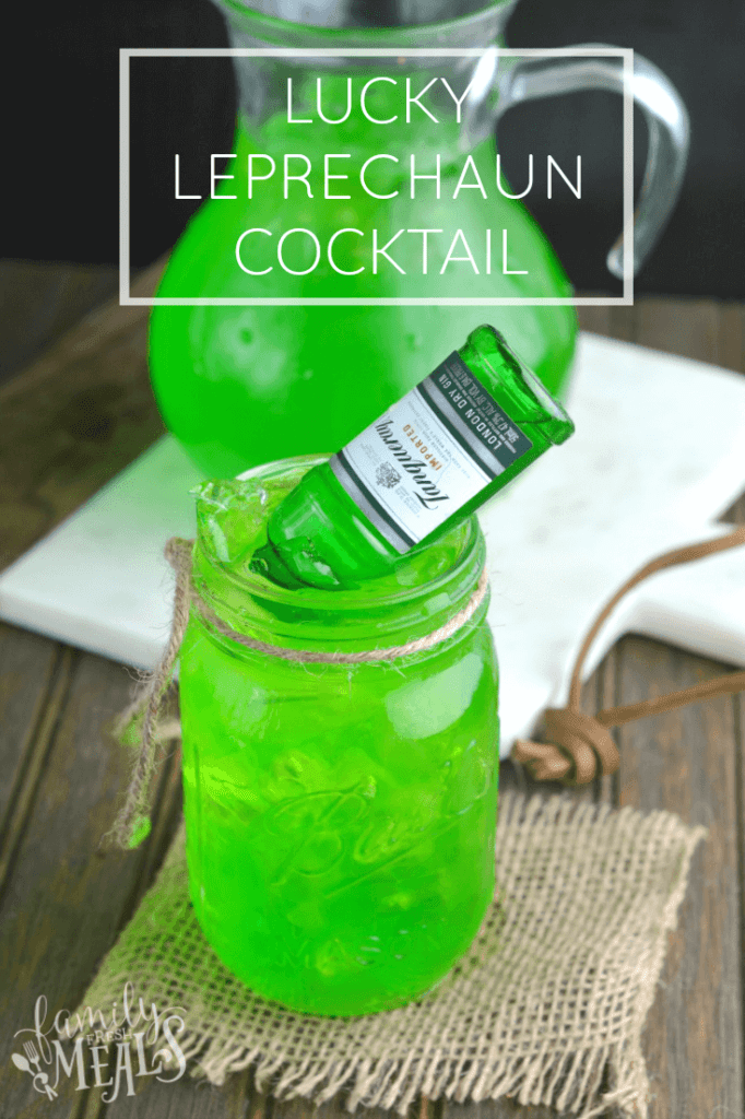 lucky green cocktail