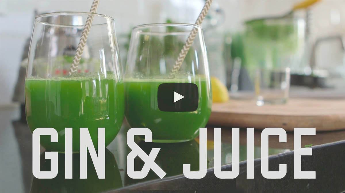 Gin juice is the best detox ever sort of video for Best juice with gin