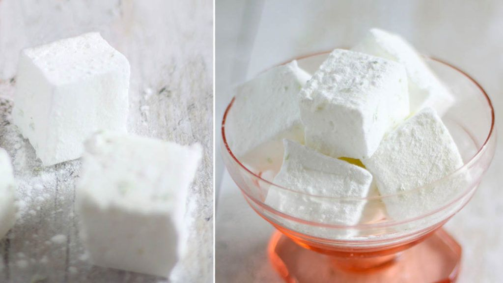 gin and tonic marshmallows