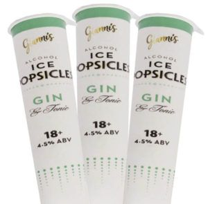 Aldi Gin & Tonic Ice Lollies