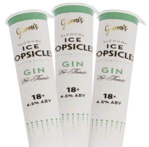 Aldi Gin & Tonic Ice Lollies