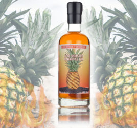 spit roasted pineapple gin