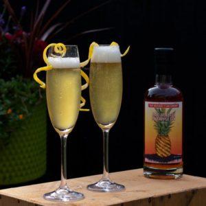 the gin pineapple