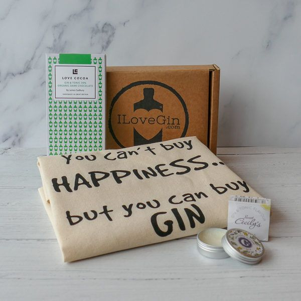The Letterbox Gin Lovers Gift Set