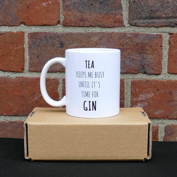 I Love Gin G&T Mug Tea