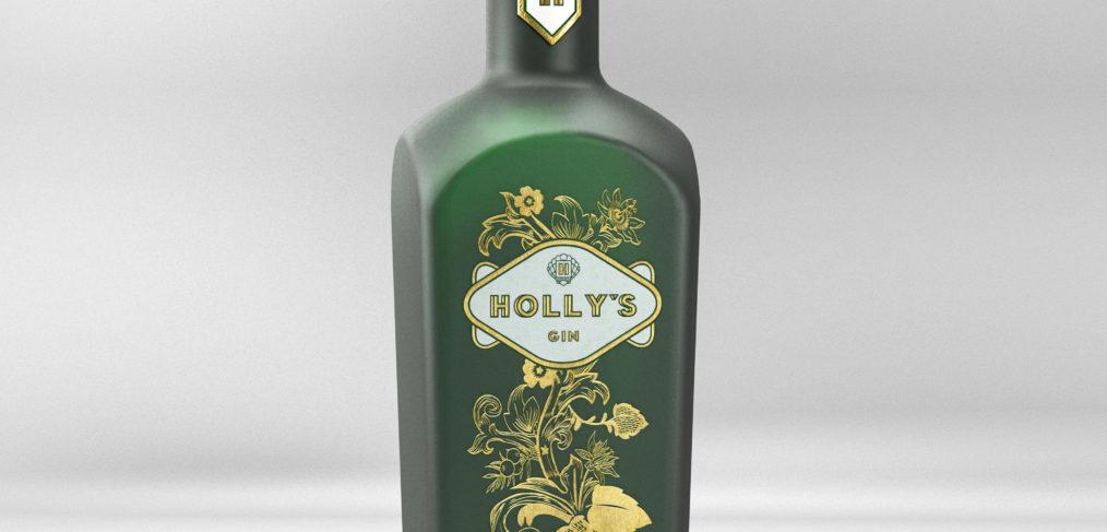 Holly's Gin Bottle