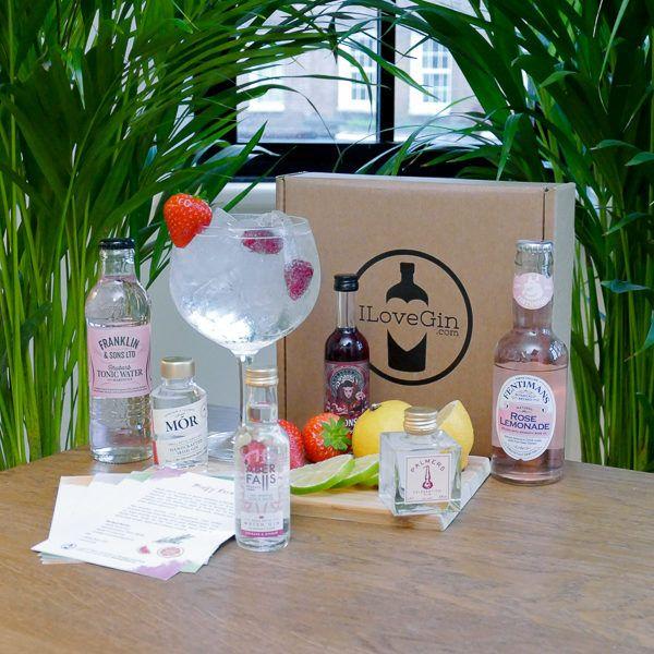 Pink Gins and Tonics Gift Set