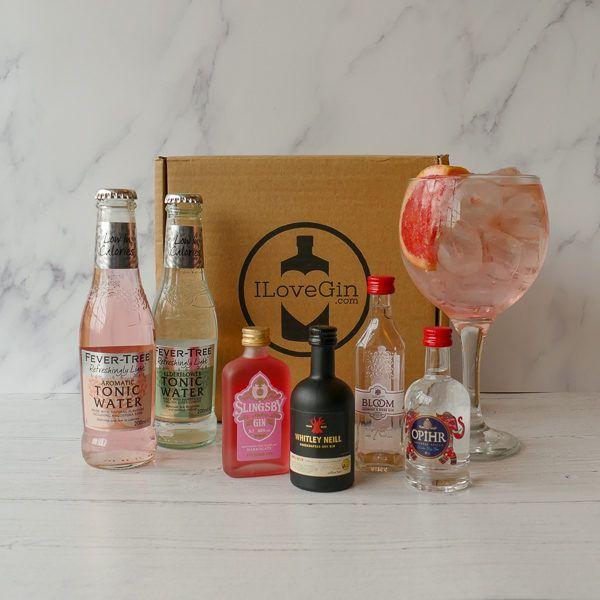 Gin and Tonic Chocolates Gift Set