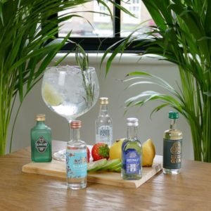 Five Gins Tasting Gift Set