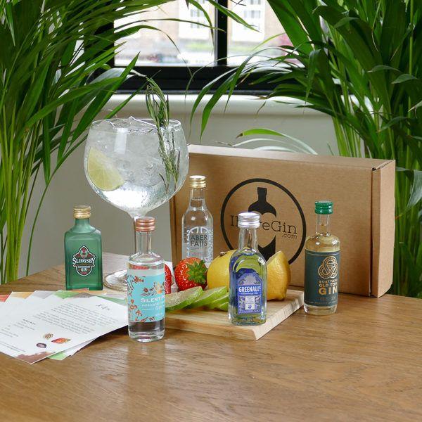 Five Gins Tasting Gift Set