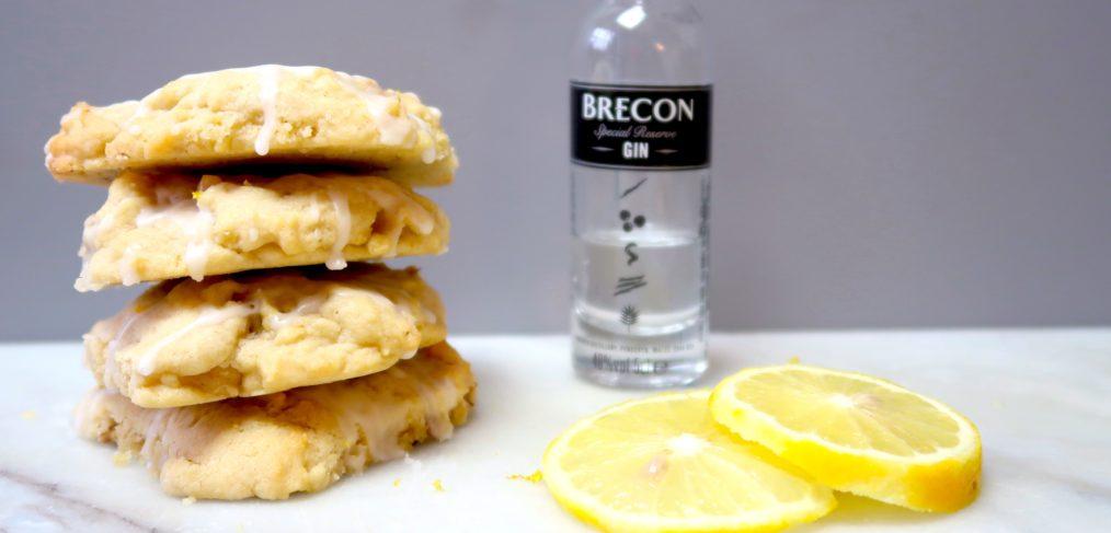 Gin Lemon Walnut Cookies
