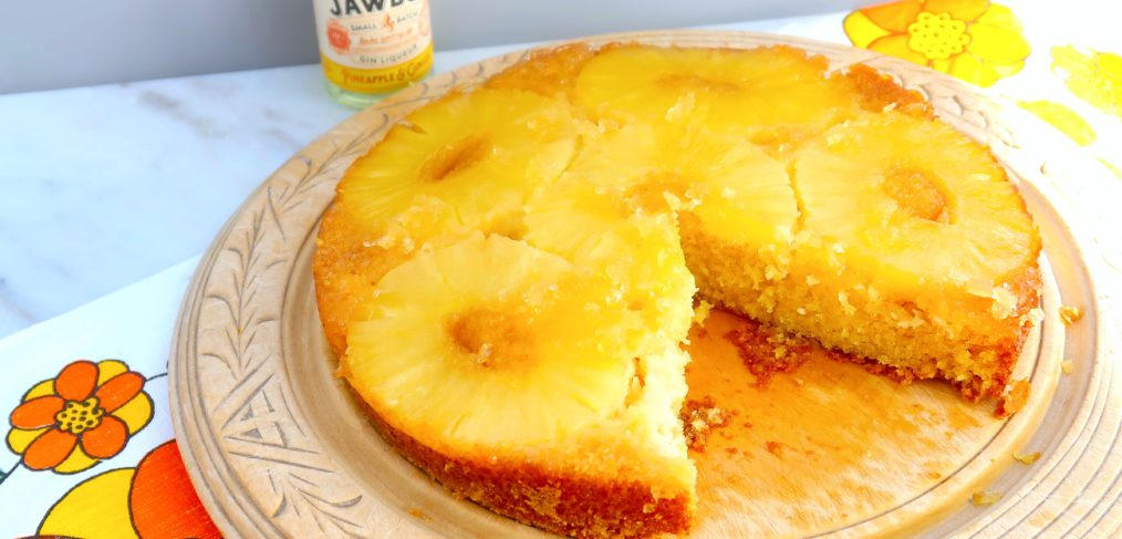 Pineapple & Gin Upside Down Cake