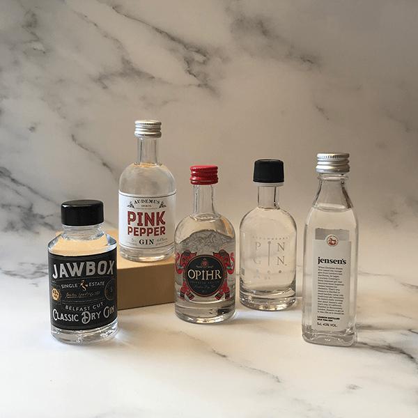 ILoveGin Selection Five Gins Tasting Gift Set