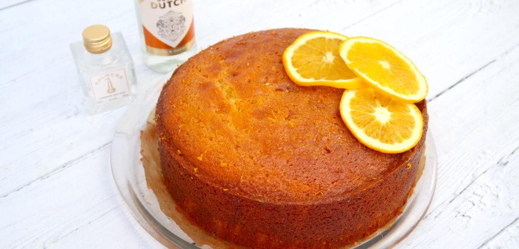 G&T Orange Polenta Cake