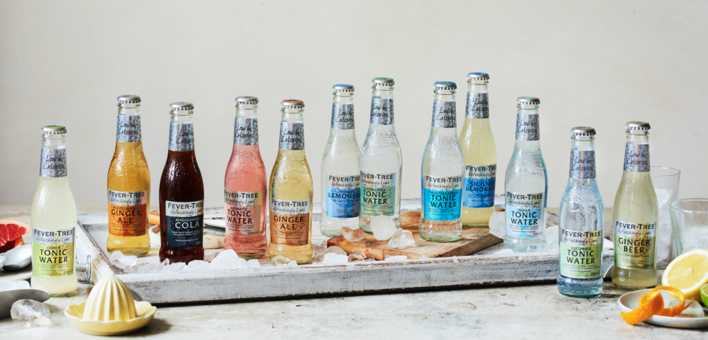 Fever Tree's 'Low-Calorie' tonics