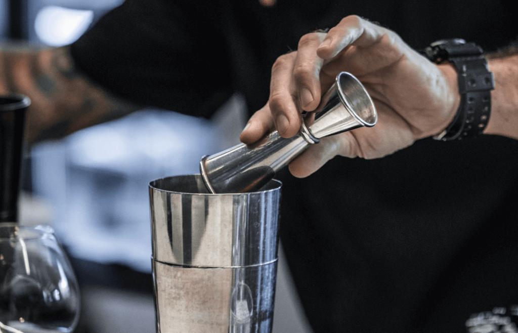 Man-making-cocktail